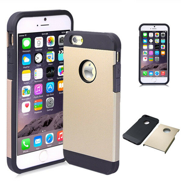 Black Hybrid Shockproof Protective Hard Case Cover For  Apple iPhone 5 / 5S