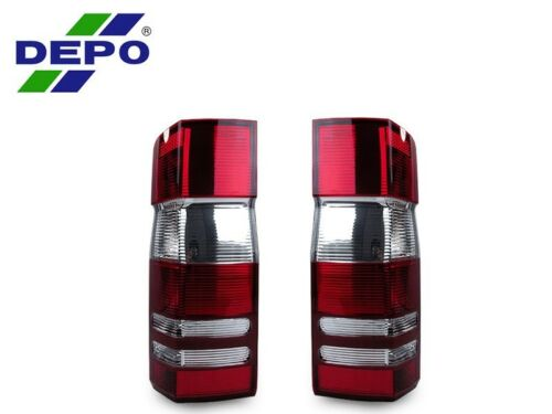 DEPO Red//Clear Replacement Rear Tail Light For 07-10 Dodge Sprinter Freightliner