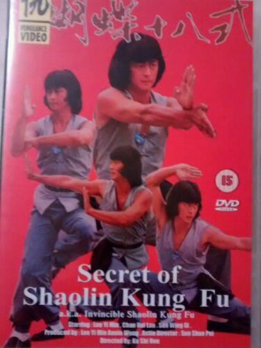 1 of 1 - SECRETS OF SHAOLIN KUNG FU  DVD