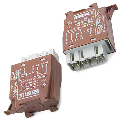 041901090100 Relay Coil-380-400 VAC 16A 250VAC THT EBERLE 1pcs