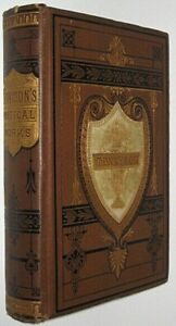 Works ALFRED TENNYSON!Not Leather Poetry Complete (VICTORIAN BINDING!)1879 RARE!