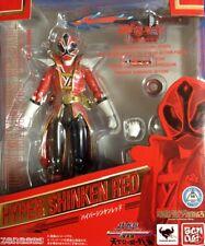 Used BANDAI S.H.Figuarts Samurai Sentai Shinkenger Hyper Shinken Red Painted