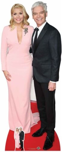 Holly Willoughby and Phillip Schofield  Lifesize and FREE Mini Cardboard Cutout