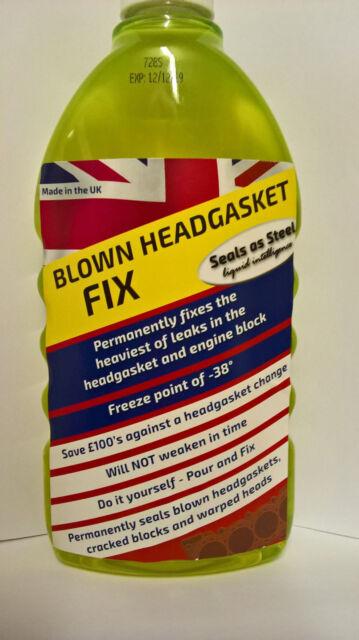 BLOWN HEAD GASKET REPAIR Will Seal the heaviest head gasket/cylinder leaks FAST