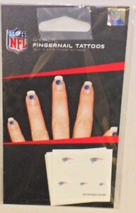 NFL-NEW-ENGLAND-PATRIOTS-20-TEMPORARY-FINGERNAIL-TATTOOS-FAST-FREE-SHIPPING
