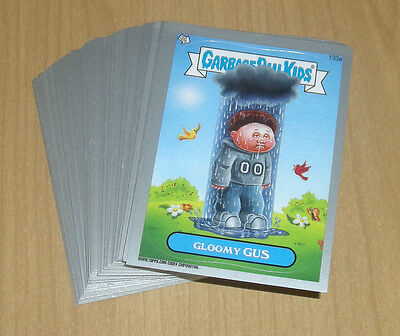 Garbage Pail Kids New Series 3 Topps Sticker 152b Dropped Deb