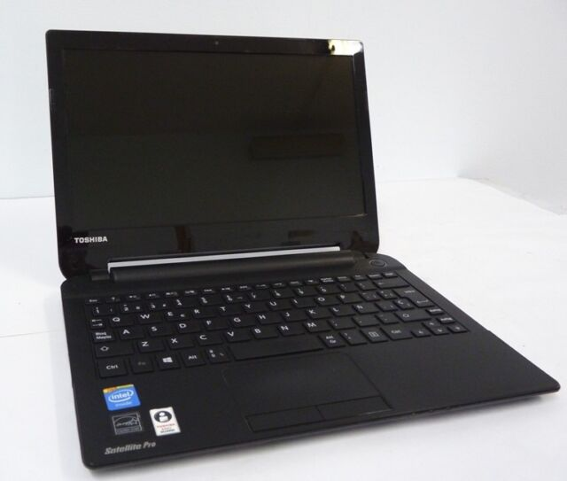 NOTEBOOK TOSHIBA SATELLITE PRO NB10 INTEL 2.16GHZ HDD500GB 4GB  WIN 10 GRADO  B