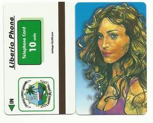 LIBERIA-PHONE-scheda-da-10-units-di-MADONNA-usata