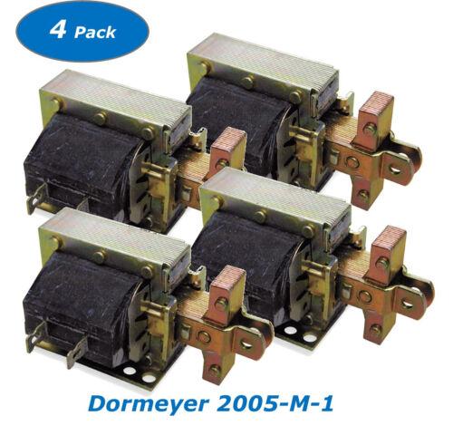 Quantity of 4 Dormeyer 2005-M-1 Laminated Solenoid 4X240