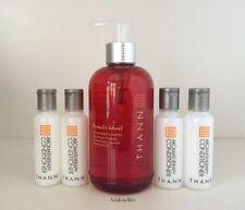THANN Aromatic Wood Aromatherapy Shampoo 250ml Full Sz & 4 Conditioner US SELLER