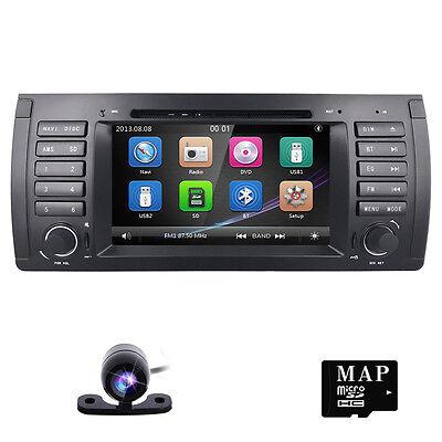autoradio dvd gps satnav navigation stereo for bmw x5 e53 5 e39 520i 523i 525i ebay