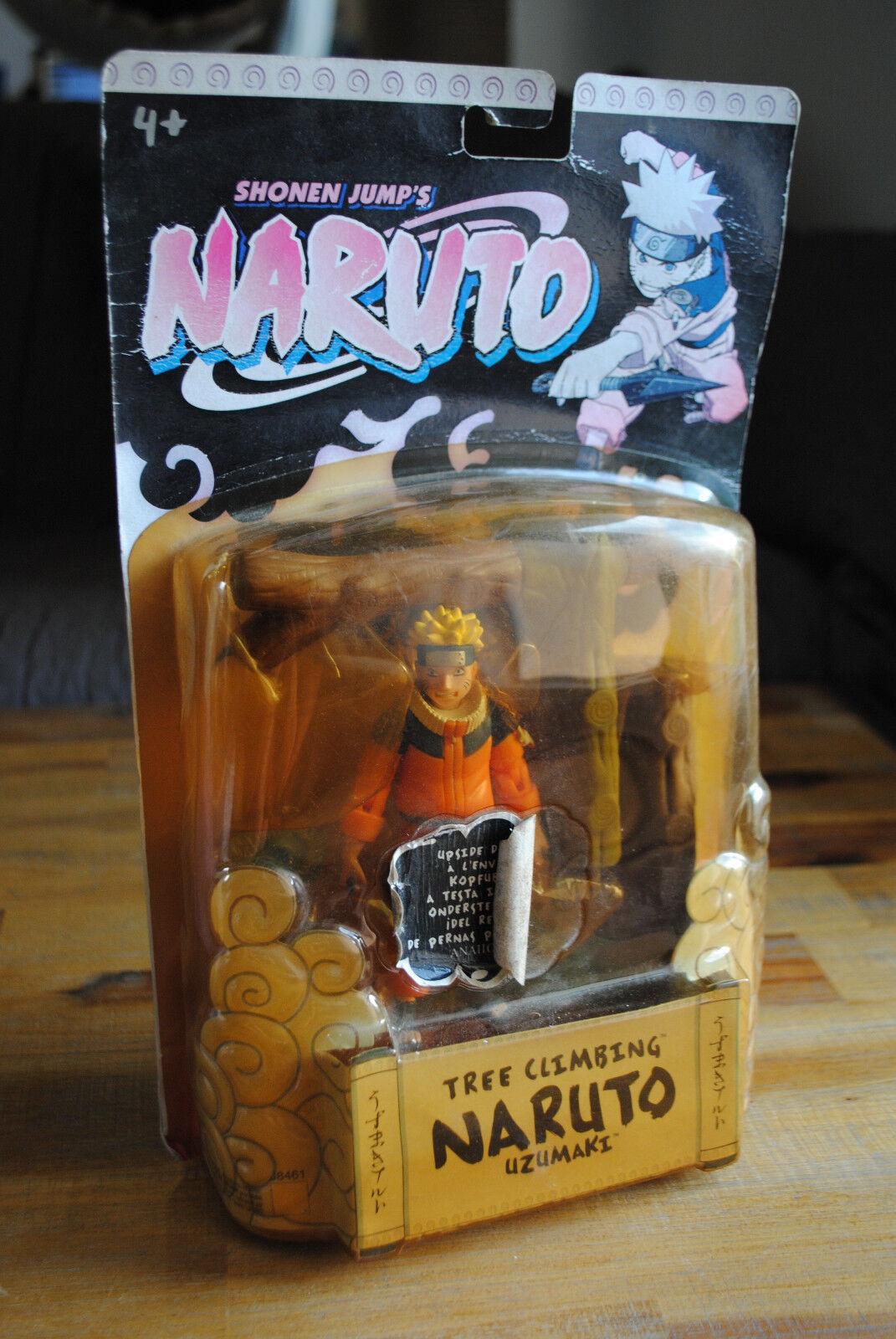 Figurine NARUTO TREE CLIMBING NARUTO UZUMAKI (Mattel)