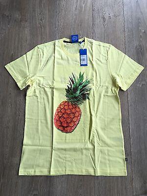 Superdry Neu Herren Hemd Laden Aop T Shirt Scorched Gelb Neu mit Etikett   eBay