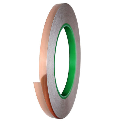 Double Side Conductive EMI Shielding Roll Tape Adhesive for Guitar 33mx0.6cm