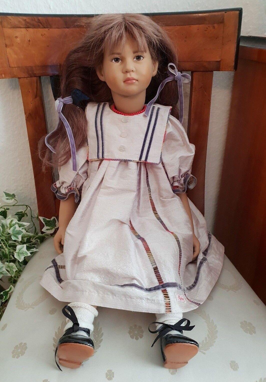 Roberta Wippler Sigikid Künstler Puppe - limitiert mit Zertifikat