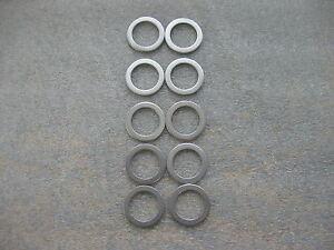NEW *Set of 10* Honda Acura 18mm Oil Drain Plug Washers 90471-PX4-000 FREE SHIP