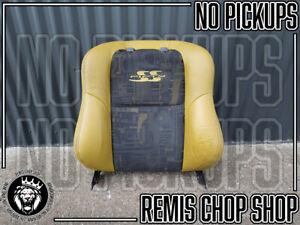 LH-Left-Leather-Seat-Back-50th-Anniversary-VU-SS-Ute-Parts-Remis-Chop-Shop