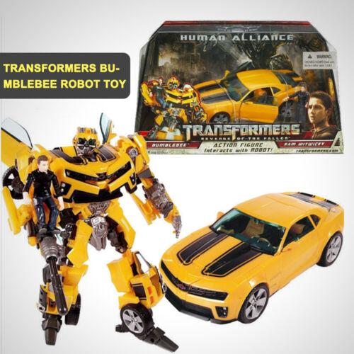 Transformers Bumblebee Human Alliance-Roboter-LKW-Auto-Action-Figuren