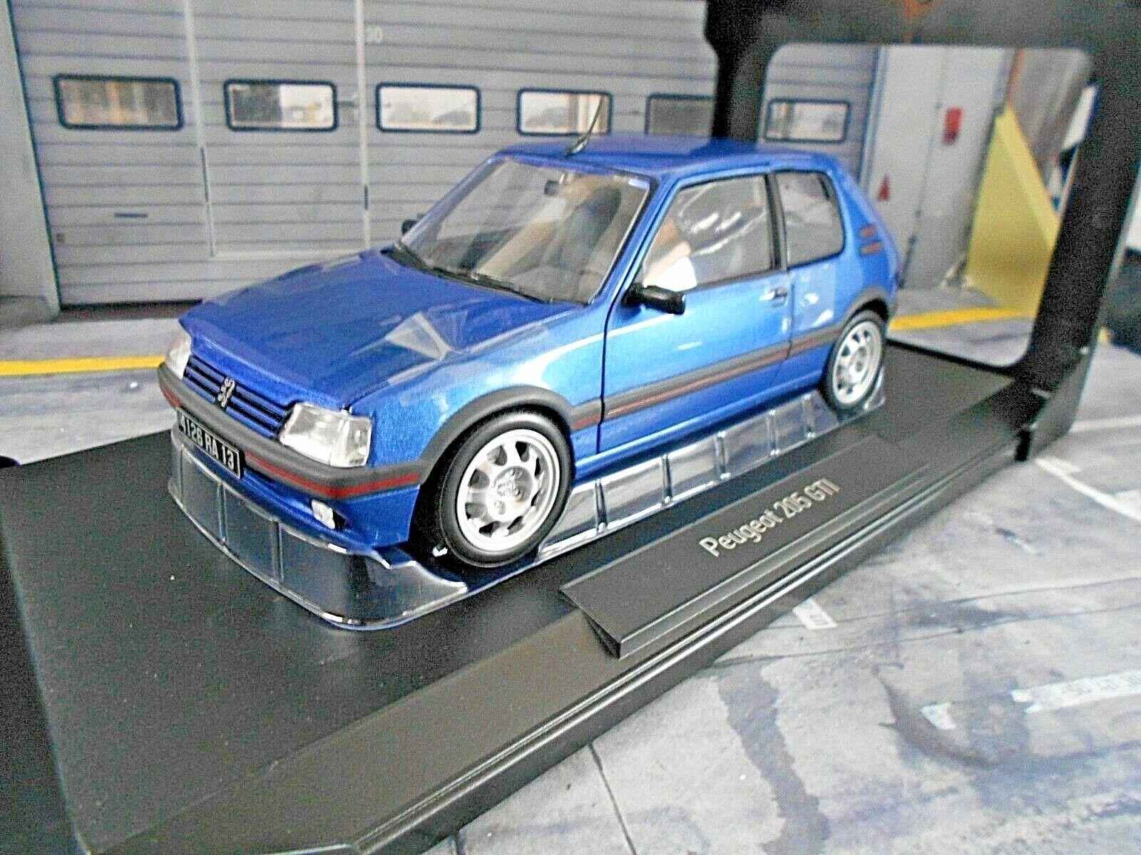 PEUGEOT 205 GTI 1.9 1992 miami bluee blue met. 184856 184856 184856 NEU Norev 1 18 af492a