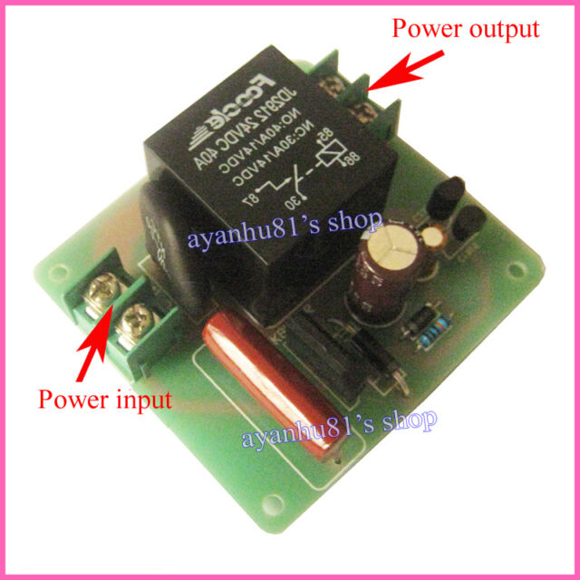 High-Power 40A 4000W Soft Start Power Supply Board for Class A Amplifier Amp