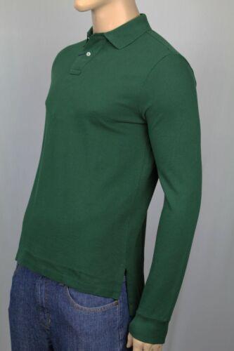 Polo Ralph Lauren Green Custom Fit Mesh Long Sleeve Shirt NWT
