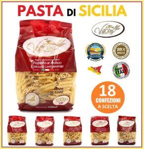 9-kg-PASTA-DI-SEMOLA-DI-GRANO-DURO-100-SICILIA-MAXI-FORMATO-VALLOLMO-18x-500-gr