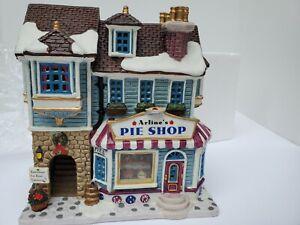 Lemax Plymouth Corners  Arline's Pie Shop 2002  25659 Village