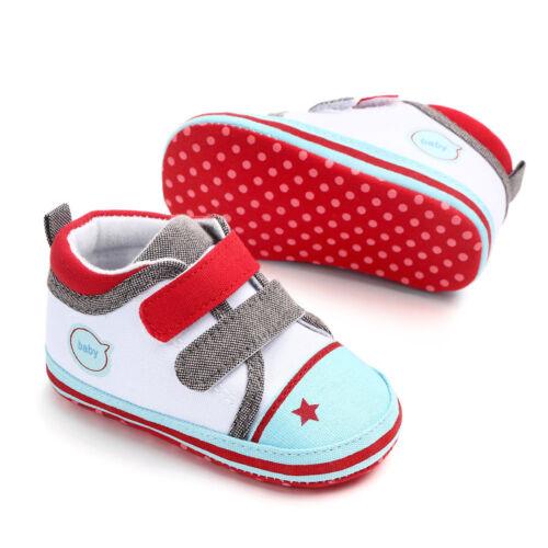 Bébé chaussures bébé premiers marcheurs Enfants Toile Chaussures Bébé Sneaker Prewalker