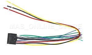 wire harness for kenwood kdc x591 kdcx591 pay today ships today ebay rh ebay com Kenwood Stereo Wiring Diagram Kenwood CD Player Wiring-Diagram