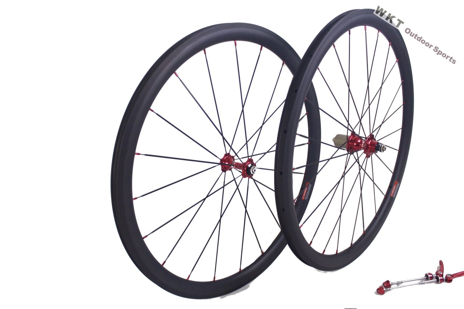38mm Carbon Wheels 700C Clincher 25mm Width  Wheel set  Road Race Bicycle Wheel