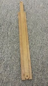 16 inch mohagany drawer slide wood lot of 20 new center ...