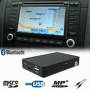 Details about Bluetooth USB SD AUX CD Changer Adapter for Volkswagen Jetta  EOS RCD MFD2 12 Pin