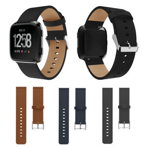 Replace-Leather-Smart-Wrist-Watch-Band-Buckle-Strap-Bracelet-For-Fitbit-Versa