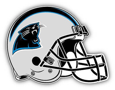 qualityprint Carolina Panthers Set of 4 NFL Football Car Bumper Stickers Decals 5 Longer Side