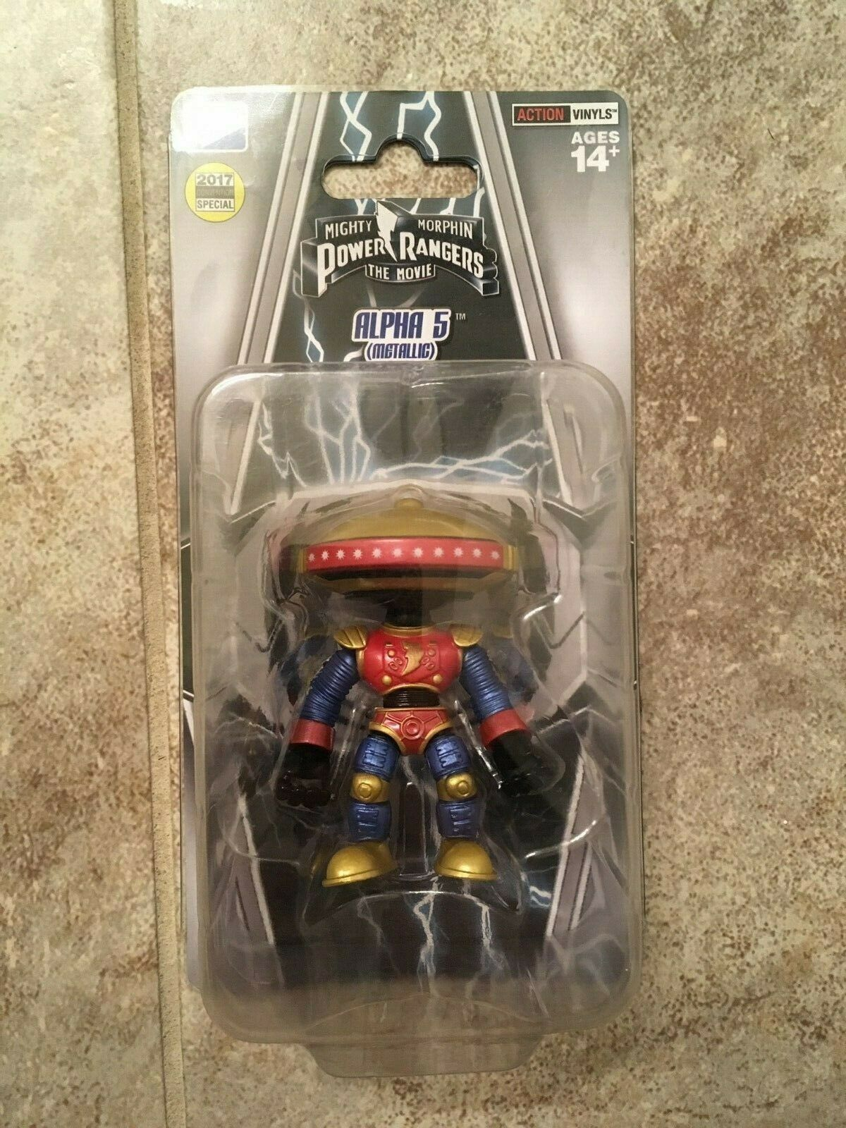 2017 Loyal Subjects Mighty Morphin energia Rangers Alpha 5 SDCC estrella Variant