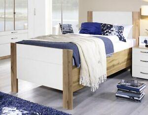 Details Zu Seniorenbett Villingen Komfort Bett 100x200 Cm Bett Einzelbett Eiche Wotan Weiss