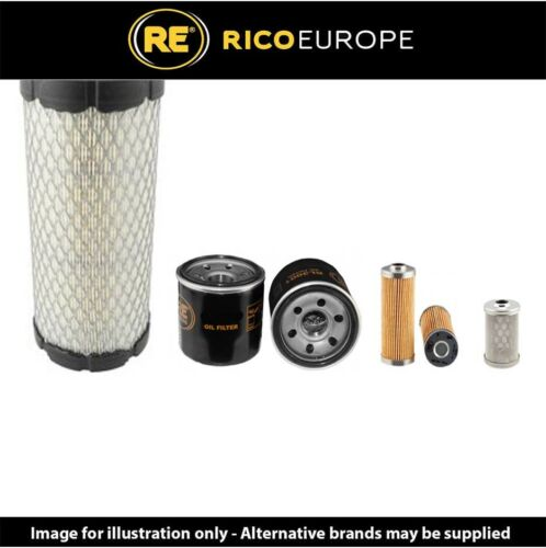 Volvo EC15D Kit Service à Filtre Air Huile Essence Filtres