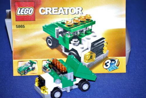 LEGO ® Creator 5865 3in1 Truck con istruzioni