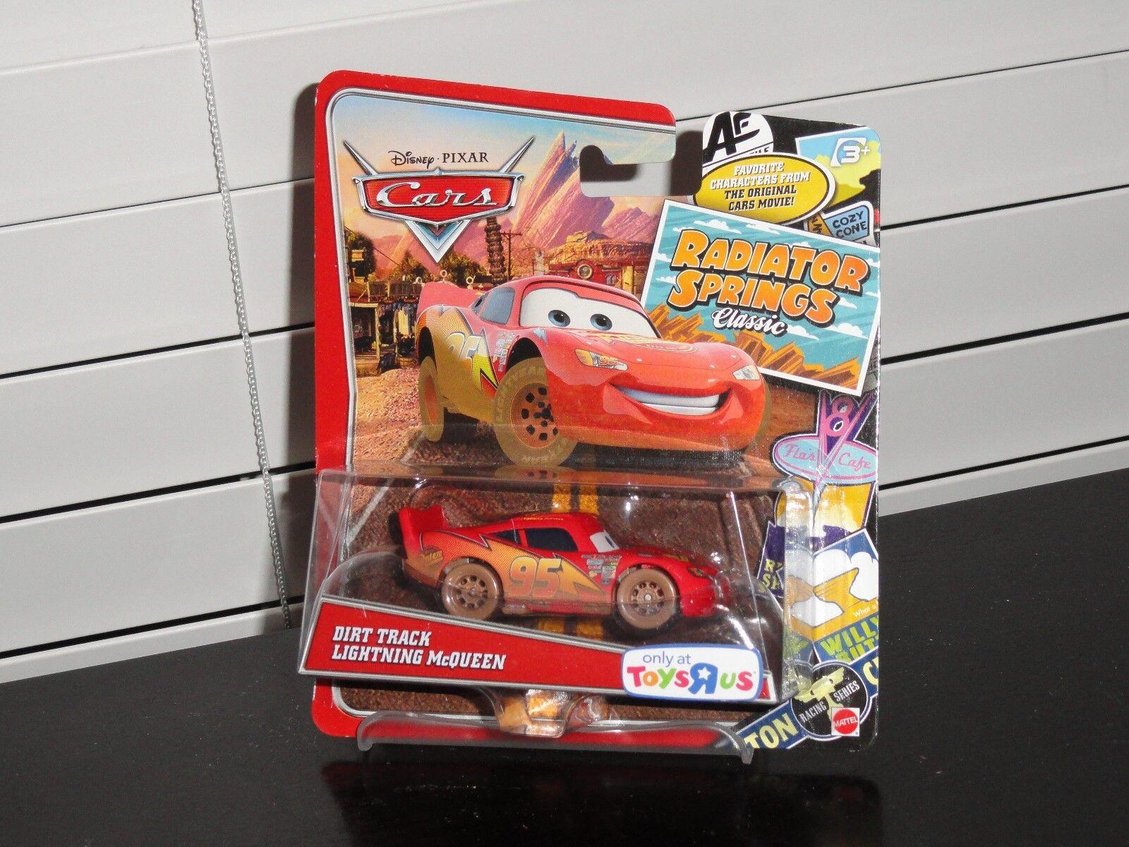 Disney Cars Radiator Springs Classic Dirt Track Lightning Mcqueen Toys R Us For Sale Online