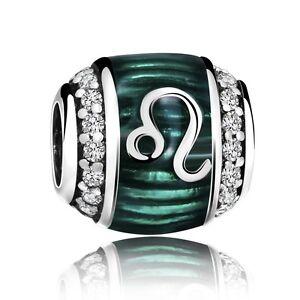 Silver-Charm-Fashion-Jewelry-Leo-Bead-Fit-925-Sterling-European-Bracelets-Chain
