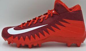 1e001eedf7ff Nike Alpha Menace Varsity TD Football Cleats, 880137-616,Red/Maroon ...