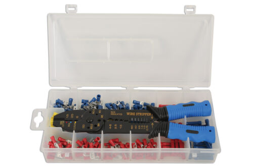NEW RELEASE! CRIMPING WIRE STRIPPING PLIERS AND TOOL SET TERMINALS ASSORTED