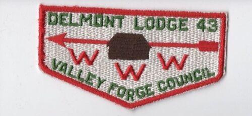 Flap OA Lodge 43 Delmont S8 WWW LMT934 BSA