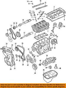 hyundai oem 02-05 sonata-motor cárter de aceite 2151038052 | ebay  ebay