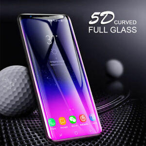 5D-For-Samsung-Galaxy-S9-S8-Plus-S7-Tempered-Glass-Full-Cover-Screen-Protector