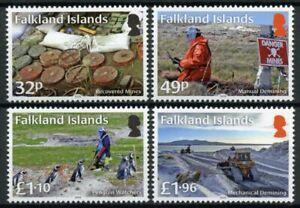 Falkland Islands Military & War Stamps 2020 MNH Demining Penguins Birds 4v Set
