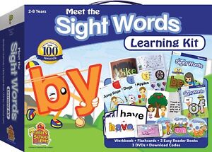 Details about Preschool Prep Company | Meet the Sight Words Learning Kit |  FAST FREE SHIPPING