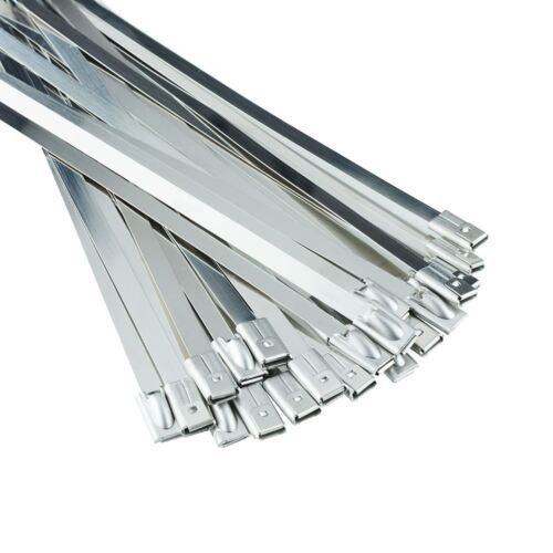 Excellent Quality Stainless Steel Cable Zip Ties Wraps Marine Grade