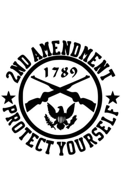 2nd Amendment Digital Svg File For Sale Online