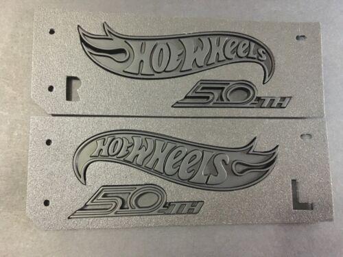 L Camaro Hot Wheels 50th Anniversary 2018 Front Fender Emblem Matte Black R